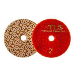 TLS TRAP3-P2-300-d100 mm-gyémánt csiszolókorong-polírozó korong-száraz-vizes