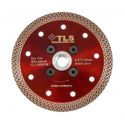 TLS K-PRO TURBO M14 vékony gyémánt vágókorong d115xM14x1,4x10 mm