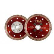 TLS K-PRO M14 ultravékony gyémánt vágókorong d115xM14x1,2x10 mm