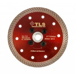 TLS K-PRO TURBO M14 vékony gyémánt vágókorong d125xM14x1,2x10 mm