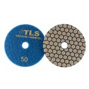 TLS ANGRY BEE D100 mm 3 darabos szett száraz gyémánt polírozótárcsa P50-200-1500