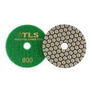 TLS ANGRY BEE D100 mm 3 darabos szett száraz gyémánt polírozótárcsa P30-100-800