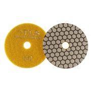 TLS ANGRY BEE D100 mm 3 darabos szett száraz gyémánt polírozótárcsa P50-100-200