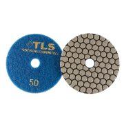 TLS ANGRY BEE D100 mm 3 darabos szett száraz gyémánt polírozótárcsa P50-100-1500