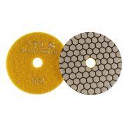 TLS ANGRY BEE D100 mm 5 darabos szett száraz gyémánt polírozótárcsa P100-200-400-800-1500