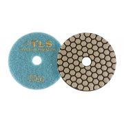 TLS ANGRY BEE D100 mm 5 darabos szett száraz gyémánt polírozótárcsa P50-100-200-800-1500