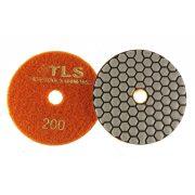 TLS ANGRY BEE D100 mm 5 darabos szett száraz gyémánt polírozótárcsa P50-100-200-400-800