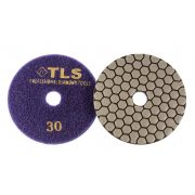 TLS ANGRY BEE D100 mm 5 darabos szett száraz gyémánt polírozótárcsa P30-200-400-800-1500