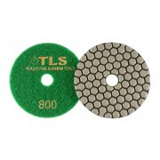 TLS ANGRY BEE D100 mm 8 darabos szett száraz gyémánt polírozótárcsa P30-100-200-400-800-1500-3000-BUFF