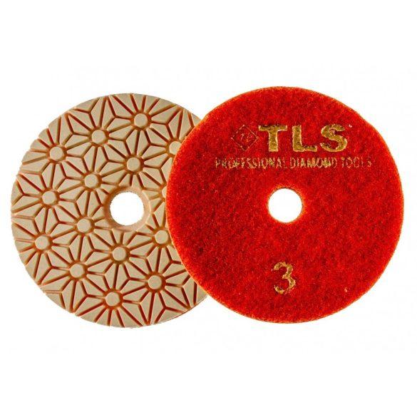 TLS TRAP5 5 darab teljes szett száraz vizes gyémánt polírozótárcsa P50-150-300-800-2000 szemcseméret