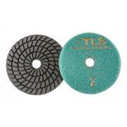 TLS SPIDER5 D100 mm 5 darabos teljes szett vizes gyémánt polírozótárcsa P50-150-300-800-2000