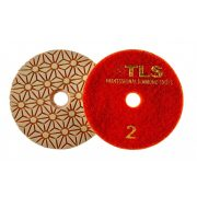 TLS TRAP3 D100 mm 3 darabos teljes szett száraz vizes gyémánt polírozótárcsa P50-300-1000