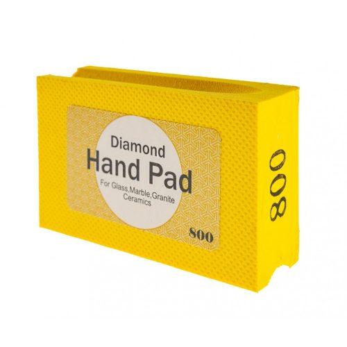TLS HANDY - P800 gyémánt kézi élcsiszoló-polírozó hasáb - műgyantakötés