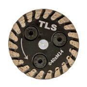 TLS CARVING MINI gyémánt vágó-, faragó- és csiszolótárcsa d40x2x8xM14 mm