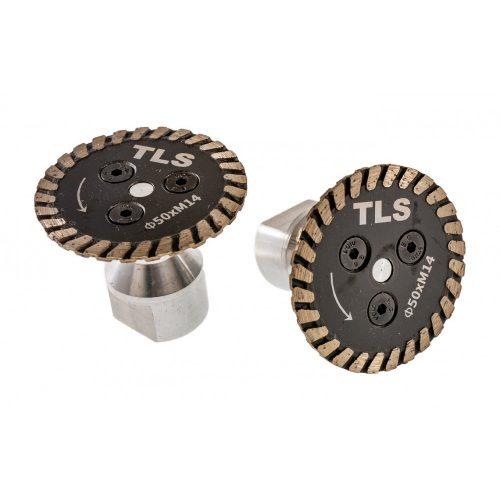 TLS CARVING MINI gyémánt vágó-, faragó- és csiszolótárcsa d50x2,1x8xM14 mm