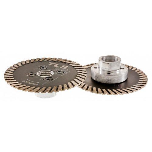 TLS CARVING MINI gyémánt vágó-, faragó- és csiszolótárcsa d75x2,2x8xM14 mm