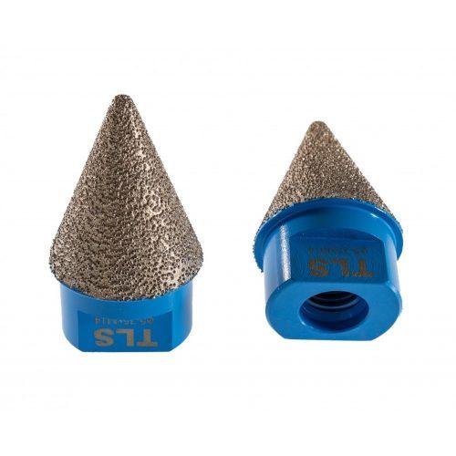 TLS CONE 5-35 mm gyémánt kúpos lyukmaró-lyuktágító-lyukfúró