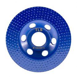 TLS VACUUM ROW gyémánt marótárcsa d100x22,23 mm
