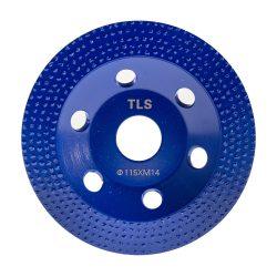 TLS VACUUM ROW gyémánt marótárcsa d115x22,23 mm