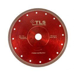 TLS K-PRO ultravékony gyémánt vágókorong d230x25,4/22,23x1,8x10 mm
