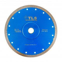 TLS X-PRO ultravékony gyémánt vágókorong d230x25,4/22,23x1,8x10 mm