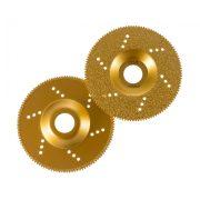 TLS VACUUM TEETH gyémánt csiszolótárcsa 1 oldalas d115 x 22.23 mm - arany