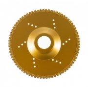 TLS VACUUM TEETH gyémánt csiszolótárcsa 1 oldalas d125 x 22.23 mm - arany