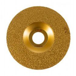 TLS VACUUM FLAT gyémánt csiszolótárcsa 1 oldalas d115 x 22.23 mm - arany