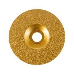 TLS VACUUM FLAT gyémánt csiszolótárcsa 1 oldalas d125 x 22.23 mm - arany