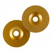 TLS VACUUM TURBO gyémánt csiszolótárcsa 1 oldalas d115 x 22.23 mm - arany