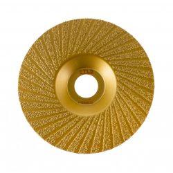TLS VACUUM TURBO gyémánt csiszolótárcsa 1 oldalas d125 x 22.23 mm - arany
