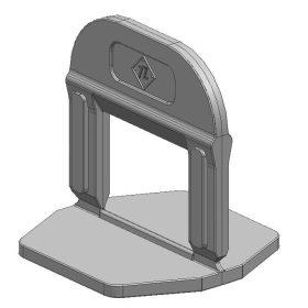 TLS-PRO ECO Lapszintező talp 5 mm