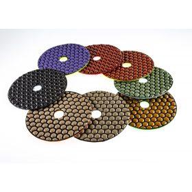 TLS ANGRY BEE száraz gyémánt polírozótárcsa 7-8-9-10 darabos szettek