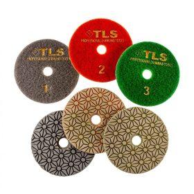 TLS TRAP3 száraz vizes gyémánt polírozótárcsa 3 darabos szett