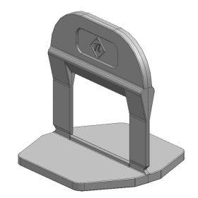 TLS-PRO ECO Lapszintező talp 1 mm