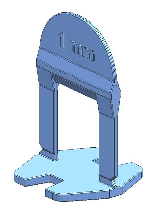 TLS-BASIC NEW - 2000 db 1 mm lapszintező talp