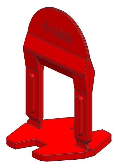 TLS BASIC NEW - 500 db 4 mm lapszintező talp