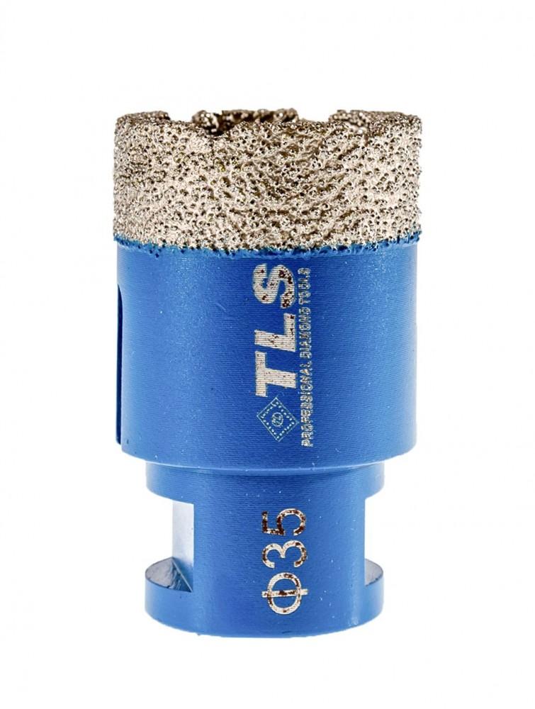 TLS COBRA-PRO gyémánt lyukfúró 35 mm kék