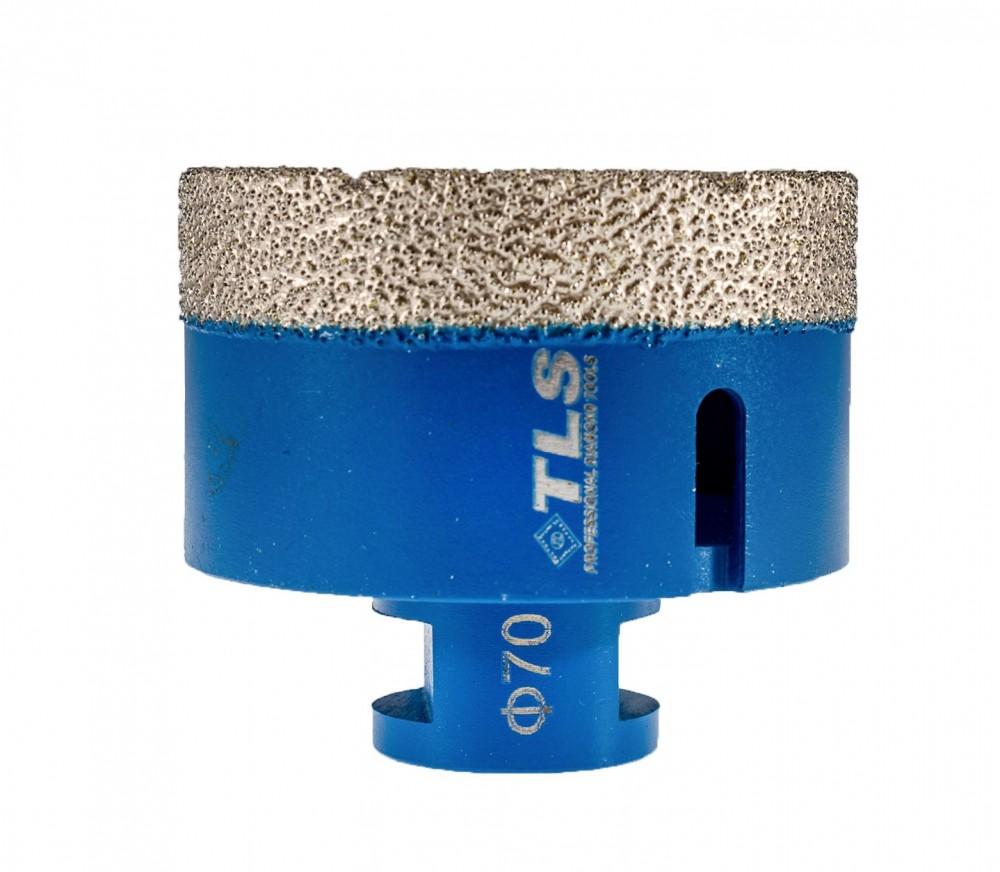 TLS COBRA-PRO gyémánt lyukfúró 70 mm kék