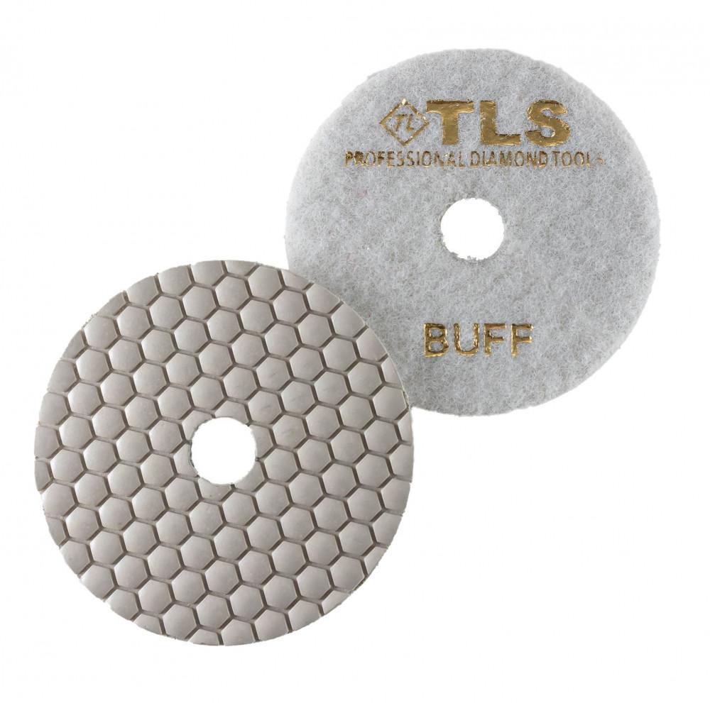 TLS ANGRY BEE-BUFF-d100 mm-gyémánt csiszolókorong-polírozó korong-száraz