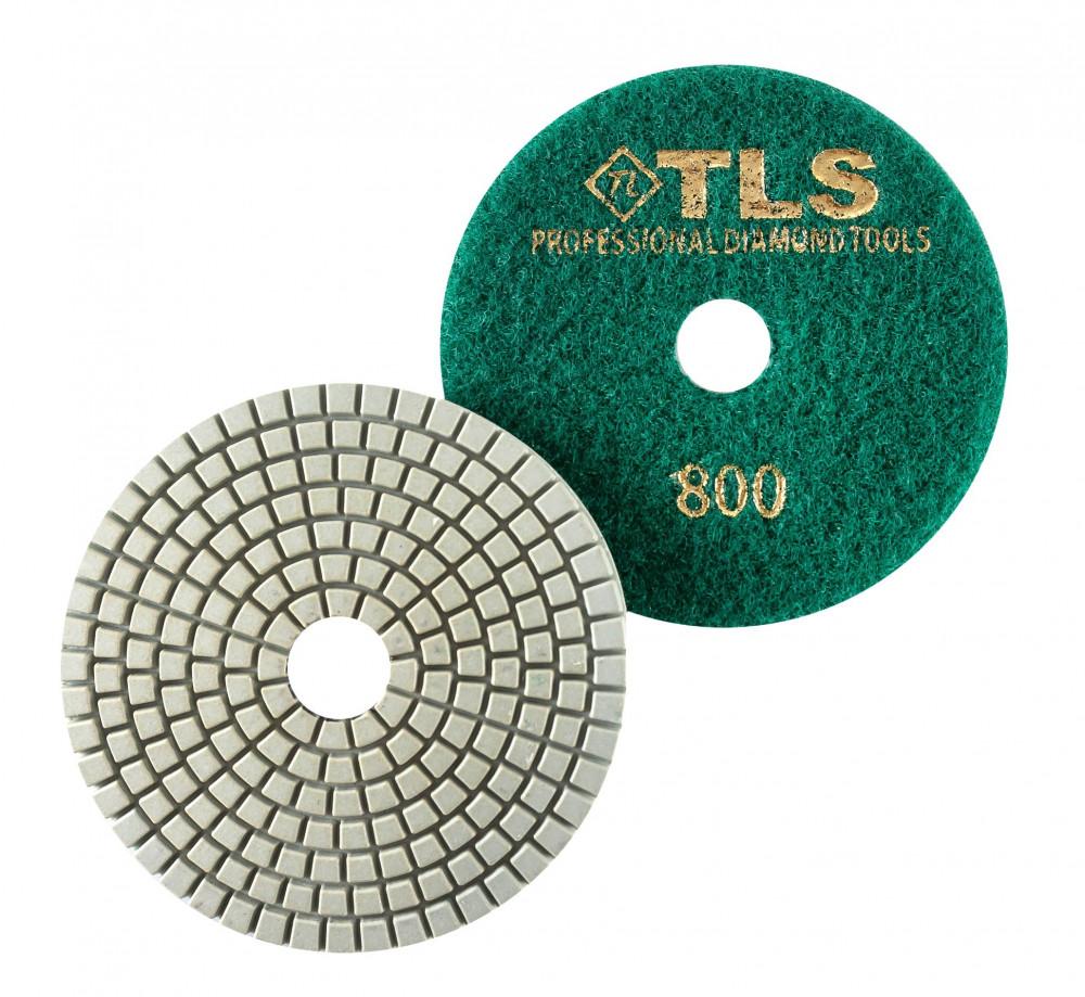 TLS SPIDER10-P800-d100 mm-gyémánt csiszolókorong-polírozó korong-vizes