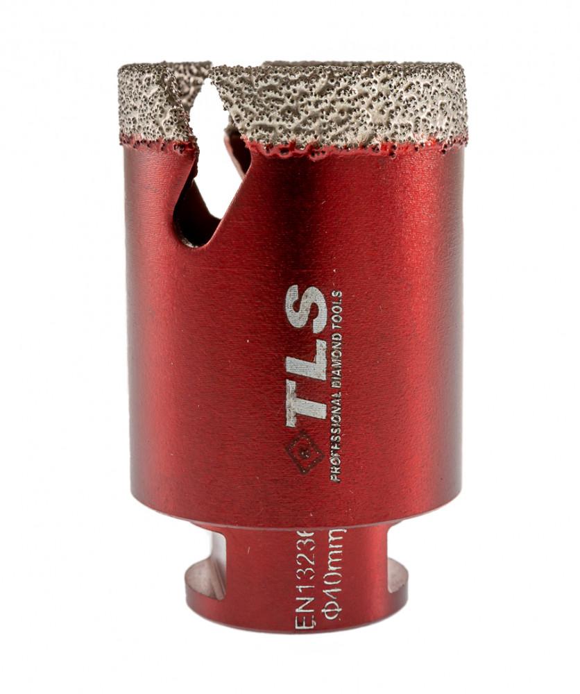 TLS VIPER gyémánt lyukfúró 40 mm bordó